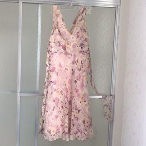 Silk dress size 4